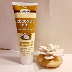 DIFEEL COCONUT OIL HAIR MASK 8 OZ. NWOT